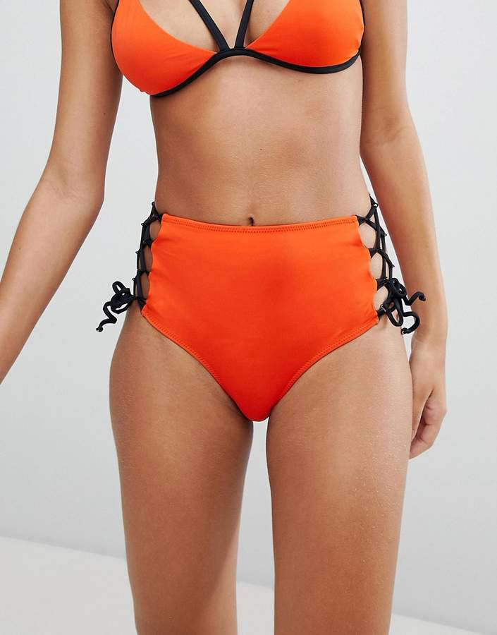 Noisy May Tie Up Side Bikini Bottoms