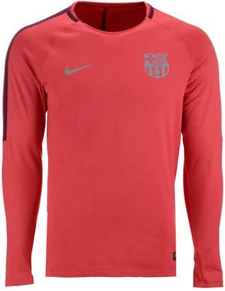 Nike Men Fc Barcelona Long Sleeve Squad T-Shirt