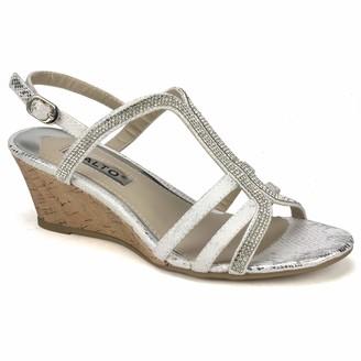 Rialto womens Wedge Dress Sandal Wedge Sandal