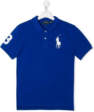 Ralph Lauren Kids TEEN Big Pony logo polo shirt