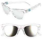 Westward Leaning Women's 'Pioneer' 53Mm Sunglasses - Black Shiny/ Standard Grey