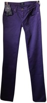 Fay Purple Denim - Jeans Trousers for Women