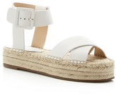 Marc Fisher Vienna Ankle Buckle Espadrille Platform Sandals