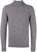 A.P.C. turtleneck ribbed sweater