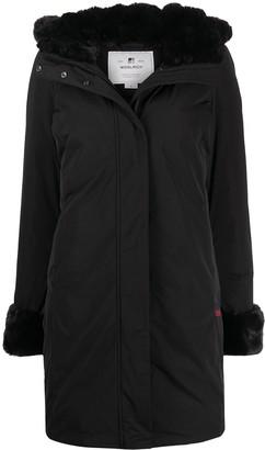 Woolrich Faux-Fur Trimmed Coat