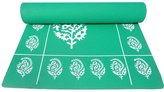 YUGA Floral Yoga Mat 4MM Thickness Anti Slip With Economy Belt Yoga Exercise Fitness Workout