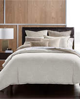 Hotel Collection Pebble Diamond Cotton Full/Queen Duvet Cover, Created for Macy's