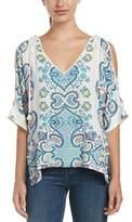 Ella Moss Tie-shoulder Tunic.