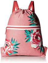 Vera Bradley Women's Beach Backsack in Oxford Floral