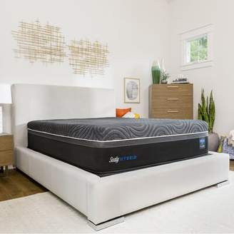 """Sealy Hybrid Premium Silver Chill Cooling 14"""" Firm Mattress and Box Spring Mattress Size: Full, Box Spring Height: Standard Height"""