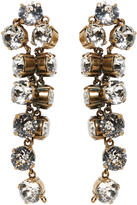 Balenciaga Gold Twist Earrings