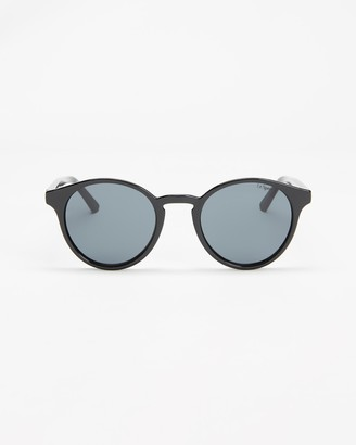 Le Specs Women's Black Round - Whirlwind - Size One Size at The Iconic