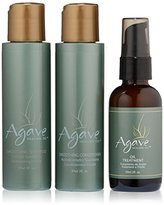 Agave Hair Shampoo Batch, 295 ml, 3-Piece