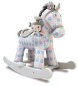 Little Bird Told Me Rosie & Mae Rocking Horse & Stuffed Animal