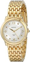 August Steiner Women's AS8133YG Gold-Tone Watch