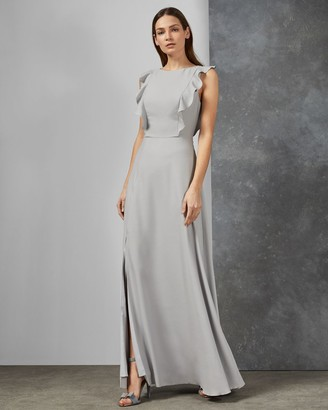 Ted Baker Waterfall Ruffle Maxi Dress