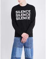 Mcq Alexander Mcqueen Silence Cotton-jersey Sweatshirt
