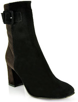 Aquatalia by Marvin K Quaint - Black and Brown Color Block Bootie