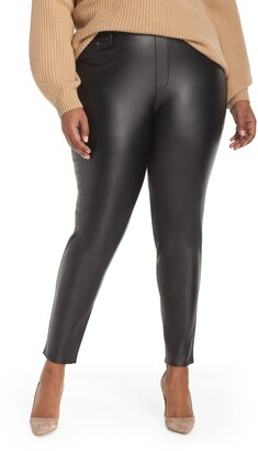 Seven7 Faux Leather Leggings