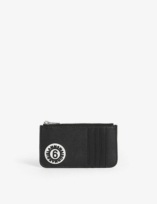 MM6 MAISON MARGIELA MM6 metallic card holder