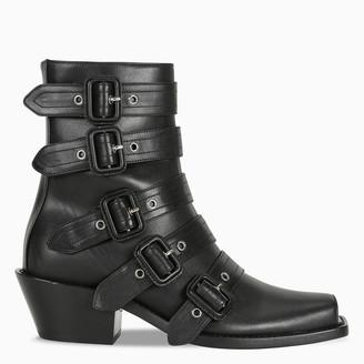 Burberry Peep toe Albertina boots