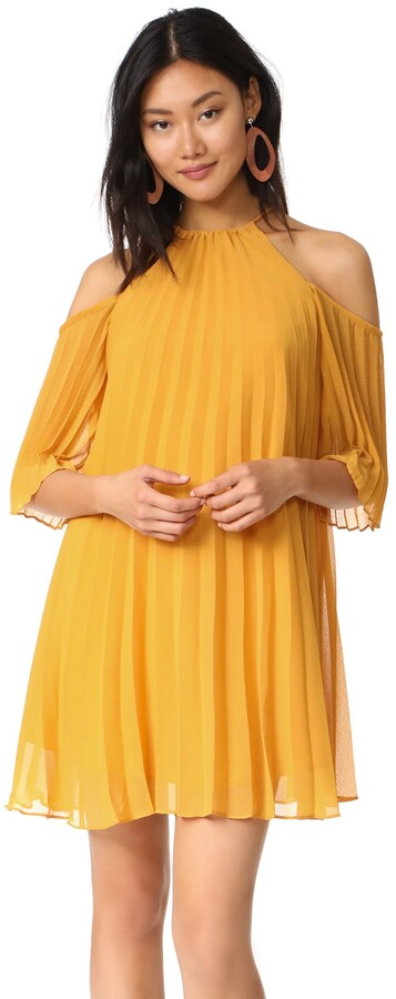Thumbnail for your product : BB Dakota Women's Gretel Pleated Shift Dress