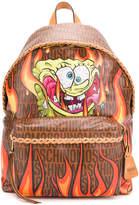 Moschino Sponge Bob print backpack