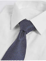 M&S Collection Textured Tie