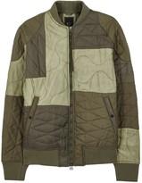 Maharishi Tonal Olive Quilted Shell Jacket