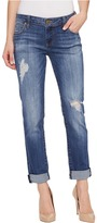 KUT from the Kloth Catherine Boyfriend Five-Pocket in Fiery Women's Jeans
