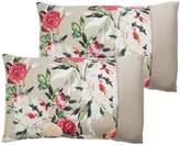 Dorma Henrietta 100% Cotton 300 Thread Count Housewife Pillowcase Pair