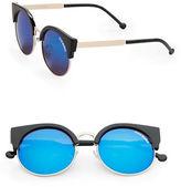 Steve Madden 44mm Cats-Eye Sunglasses