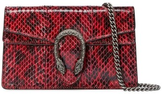 Gucci Dionysus super mini snakeskin bag