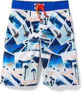Old Navy Printed Swim Trunks for Boys