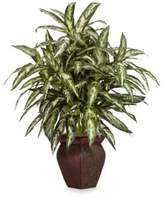 Bed Bath & Beyond Nearly Natural Aglaonema w/ Decorative Vase Silk Plant