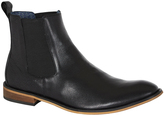 Oxford Cliff Leather Boots Blk X