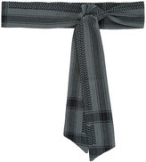 Cecilie Copenhagen - Keffiyeh printed belt - women - Cotton - One Size