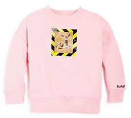 Burberry Girls' Carrie Deer Print Sweatshirt - Little Kid, Big Kid