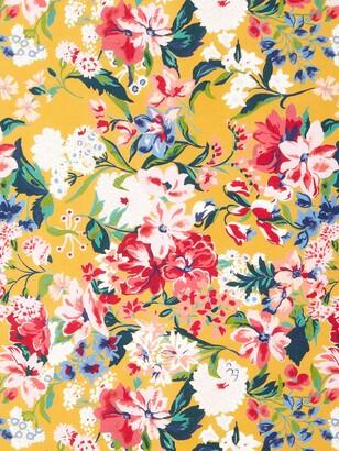 John Lewis & Partners Large Floral Print Fabric, Multi