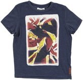 Ben Sherman Graphic Tee (Toddler/Kid) - Classic Navy Marl-8/9 Years