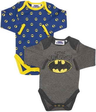 Fabric Flavours Set Of 2 Batman Cotton Jersey Bodysuits