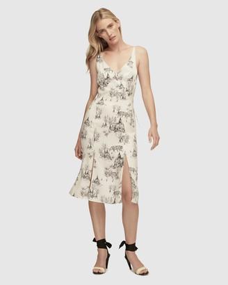 Lover Wild Cat Silk Dress