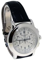 Patek Philippe 5070 18K White Gold Chronograph Mens Watch