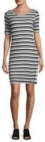 Splendid Striped Sheath Dress