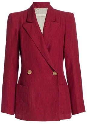 ANNA MASON Sharp Double Breasted Jacket