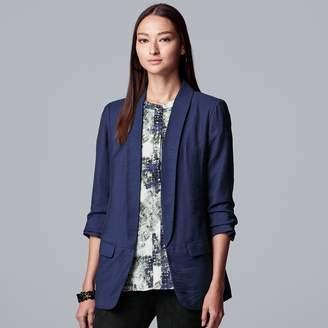 Vera Wang Women's Simply Vera Slouch Sleeve Blazer