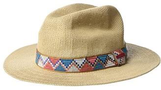 Prana Cybil Knit Fedora (Suede) Fedora Hats