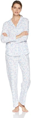 Karen Neuburger Women's Plus Size Long Sleeve Pajamas Set Pj