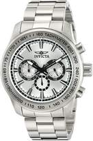 Invicta Men's 'Speedway' Quartz Stainless Steel Automatic Watch, -Toned (Model: 21794)