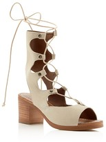 Matisse Expo Lace Up Mid Heel Sandals